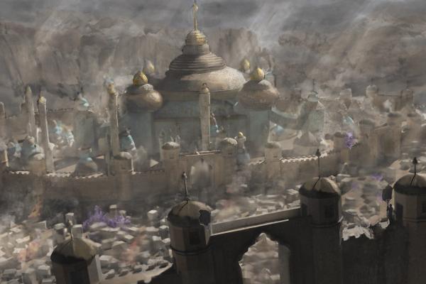 Establishing Shot Capitol under Siege